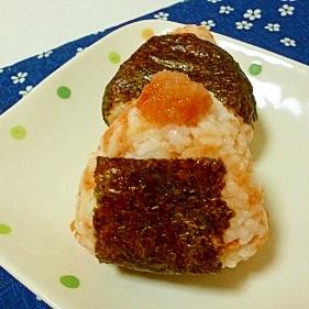 最強コラボ☆めんたい鮭おにぎり