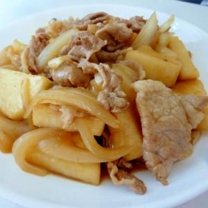 ☆ご飯が進む♪ 豚肉と長芋の甘辛炒め☆