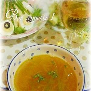☆★カレー風味♪コンソメスープ★☆