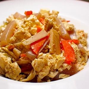 エスニック炒り豆腐