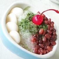 夏に食べたい!和のカキ氷!宇治金時です!