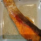 生鮭の照り焼き