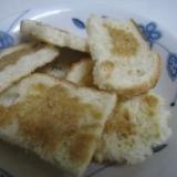 カリッカリの食パンラスク
