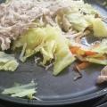 ホットプレートで蒸し野菜鍋