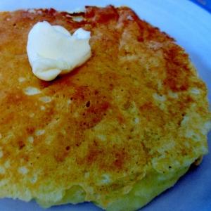 卵なしでもふんわり☆りんごホットケーキ