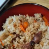 春の味!ホタルイカの炊き込みご飯