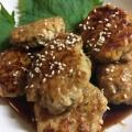 水切りなし♡豆腐でボリューム♡ふわふわ鶏つくね