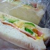 食パンで♪ふんわり卵サンドウィッチ
