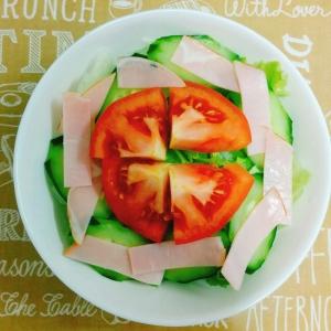 夕飯☆簡単トマトのサラダ