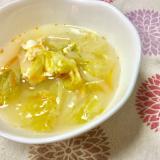 酸辣湯(サンラータン)風スープ♪