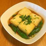 簡単揚げ出し豆腐