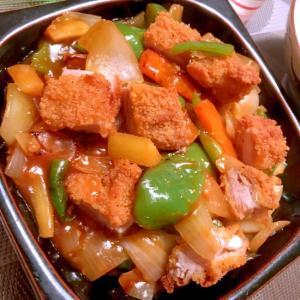 簡単美味しい唐揚げリメイク酢鶏