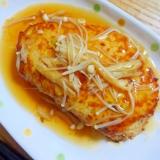 豆腐と鶏ひき肉のヘルシーハンバーグ