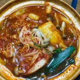 キムチ鍋(餅巾着入り)