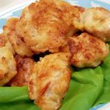 塩レモンで!(^^)鶏もも肉のさっくり唐揚げ♪