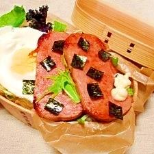 お弁当☆スパム丼