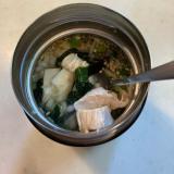 【スープジャーランチ】しじみスープご飯