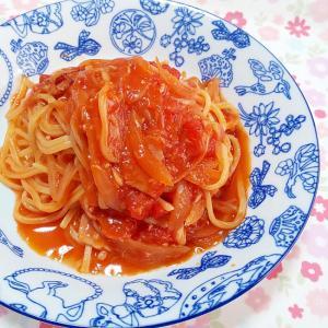 隠し味で美味しい♪ツナトマトパスタ++