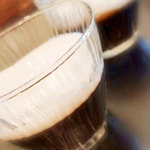 マシュマロムースで簡単♪二色のコーヒーゼリー