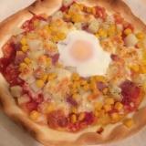 イーストなし 発酵なしピザ
