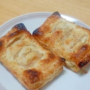 オーブントースターで焼く簡単アップルパイ