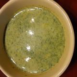 ほうれん草とかぼちゃのスープ