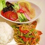 4:3:3ダイエットレシピ☆中華ヘルシープレート