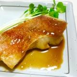 フライパンでササッと少量♪赤魚の煮付け♡
