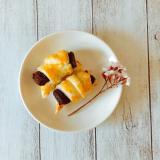 冷凍パイ生地で簡単ミニチョコクロワッサン