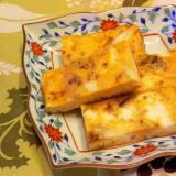 百合根と佃煮ふりかけの卵焼き