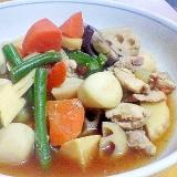 筑前煮♪冷凍根菜で簡単