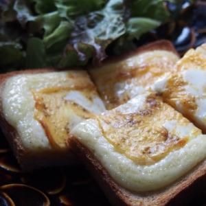 忙しい朝に!マヨたまトースト