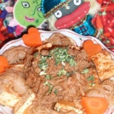 韓国風!肉豆腐