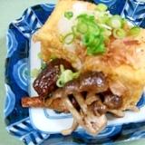 めんつゆで簡単◇揚げ出し豆腐