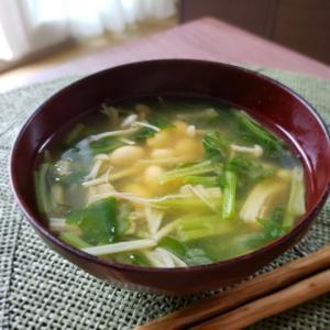 【独居自炊】大豆の煮汁でお味噌汁