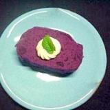 色がきれい♪食物繊維も多い♪紫芋ようかん