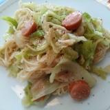 キャベツで簡単「そうめんチャンプルー」沖縄料理♡