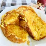 フランスパンふわふわジュワッと簡単フレンチトースト