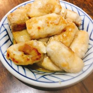 豚肉巻き豆腐炒め