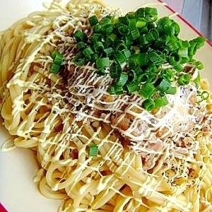 ✦簡単✦納豆ツナパスタ