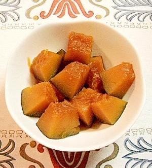 初心者でも簡単にできる かぼちゃの煮物。