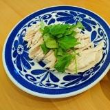 塩麹で簡単しっとり鶏ハム~バーミキュラ~