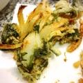 新玉葱と大葉☆かき揚げ