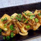 コッテリ美味しい☆照りマヨ豆腐ステーキ