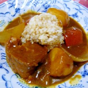 ❤ でかでか根菜&豚スペアリブのカレー ❤