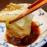 蒸し白菜のオイスター醤油