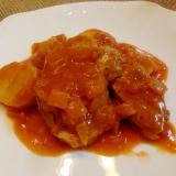簡単おもてなし♪豚ヒレ肉のトマト煮