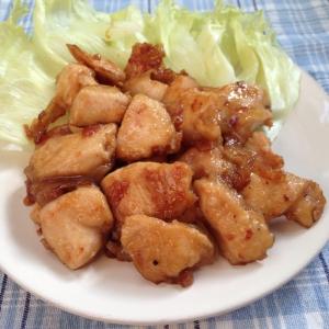 鶏の生姜醤油焼き♪