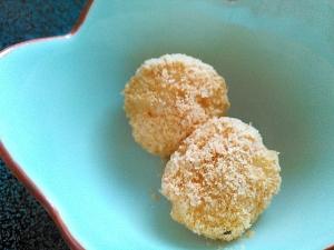 手作りきな粉の味付け絶妙なきな粉だんご