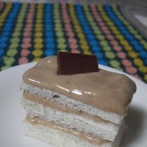 チョコ里クリームケーキ♪(100kcal)